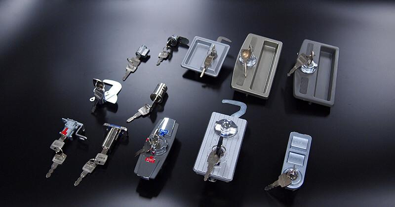 ショーケース・物置用錠